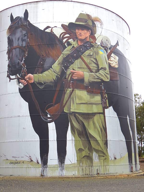 Silo Art trail north-east Victoria