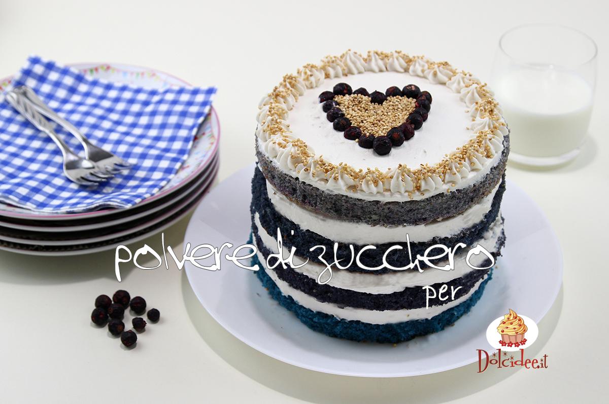 torta al latte caldo ricetta sfumata blu ombre cake tutorial passo a passo dolcidee cameo paneangeli rebecchi polvere di zucchero
