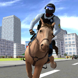 Game Android Mounted Police Horse 3D Download