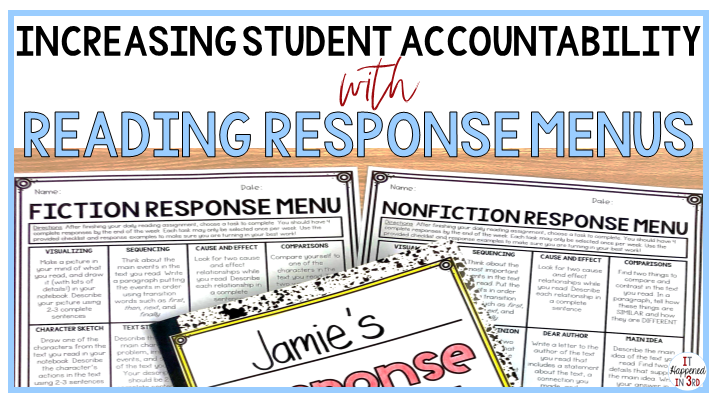 reading-response-menus