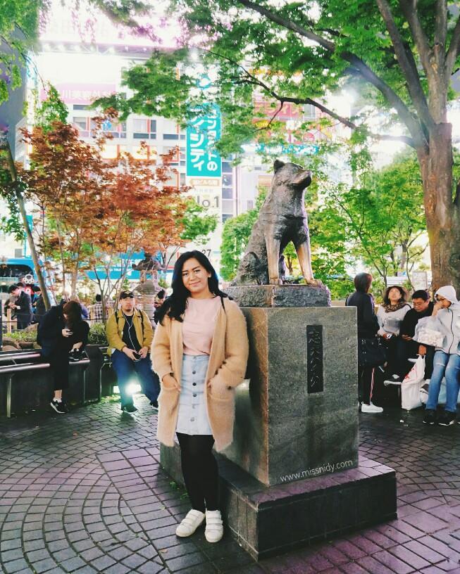 patung hatchiko shibuya