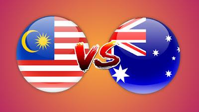 Live Streaming Malaysia vs Australia Friendly Match B-22 17.3.2019