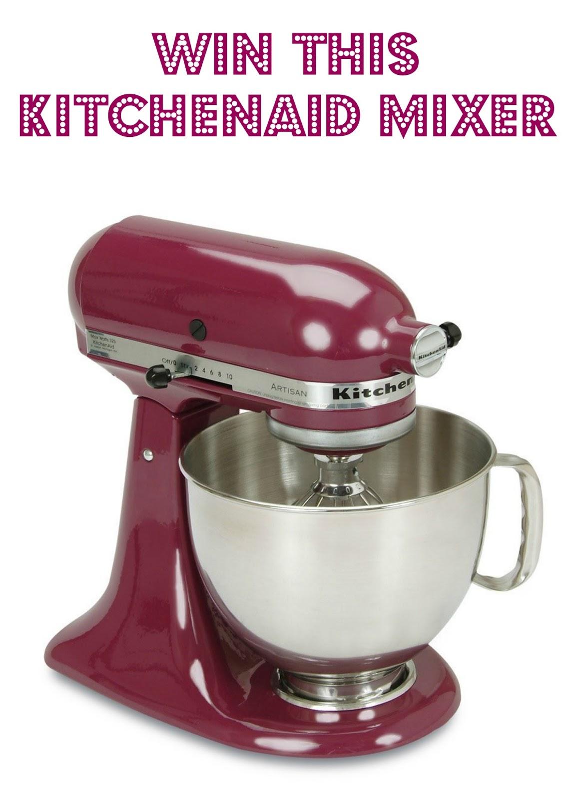Amaretto Pound Cake Kitchenaid Mixer Giveaway Plain