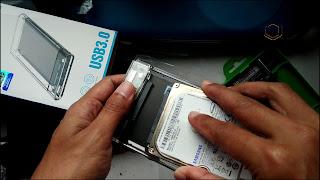 cara membuat hardisk eksternal dari hardisk bekas laptop
