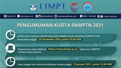 Pengumuman SNMPTN 2021 Hari Ini Pukul 15.00 WIB, Cek Hasilnya di Sini!