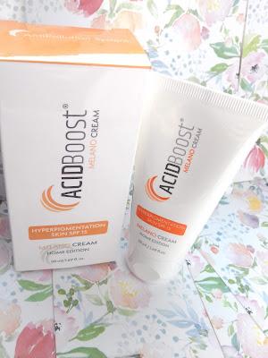 Melano Cream SPF 15 skóra z przebarwieniami    ACIDBOOST
