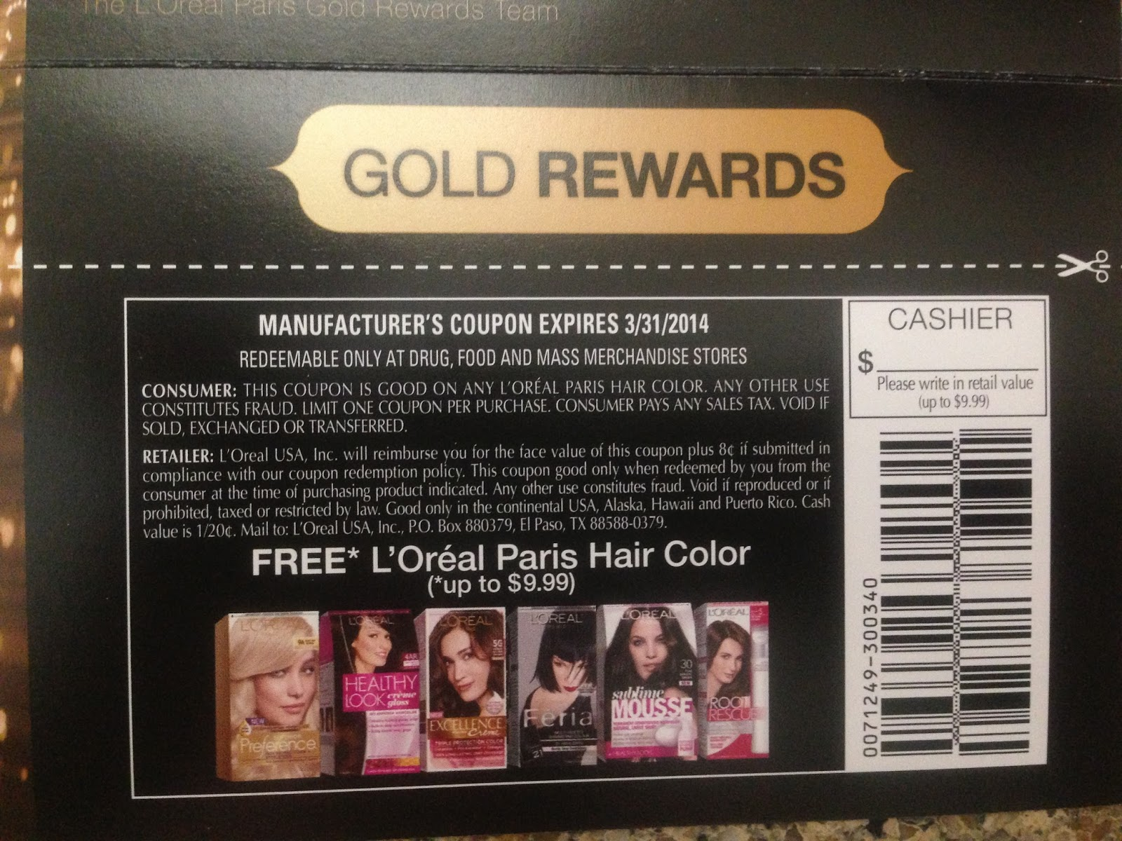 photograph relating to Loreal Printable Coupon identified as Loreal shade coupon : On the web fruit shipping and delivery