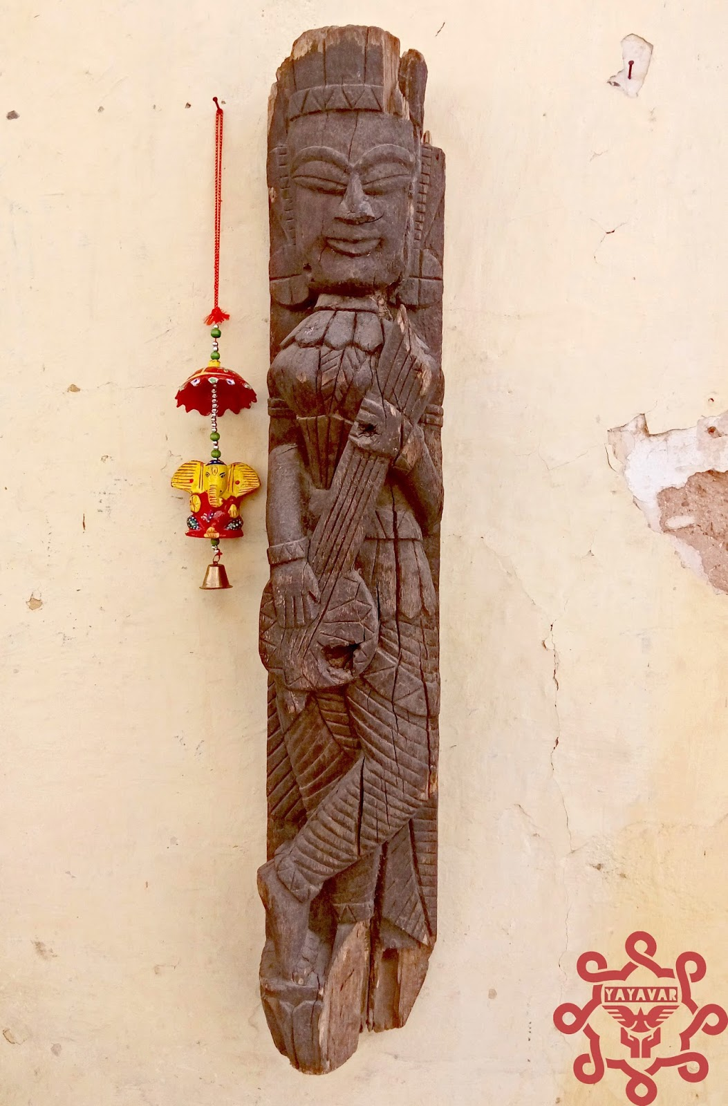 Wooden Statue Found At Bundi