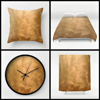 Brushed Copper Metallic Home Decor Collection