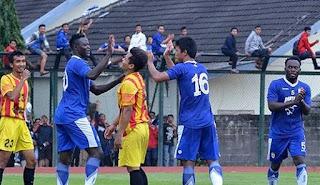 Persib Bandung vs Sleman United 4-0 Laga Uji Coba Stadion UNY