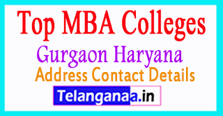 Top MBA Colleges in Gurgaon Haryana