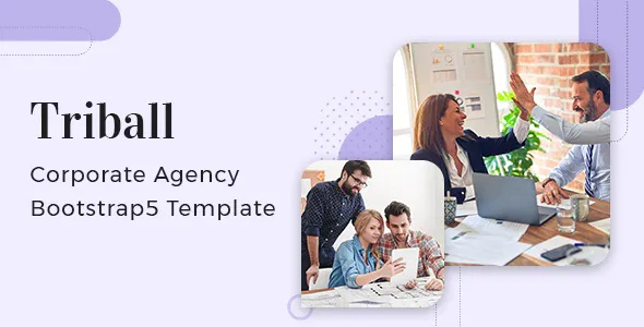 Best Corporate Agency Bootstrap 5 Template