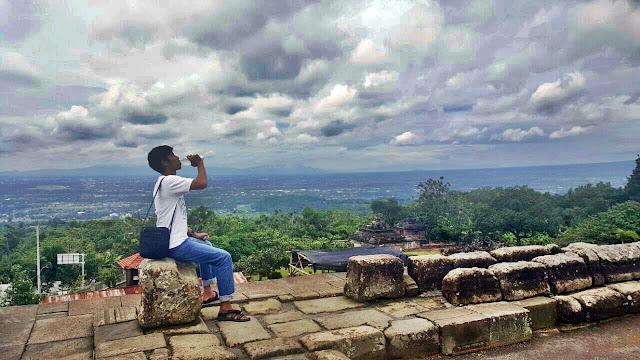 Pemandangan di Candi Ijo