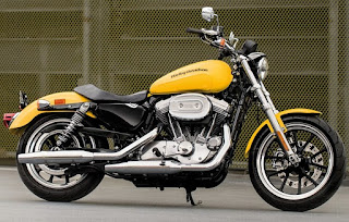 harley davidson sportster 883 superlow 2018 yellow