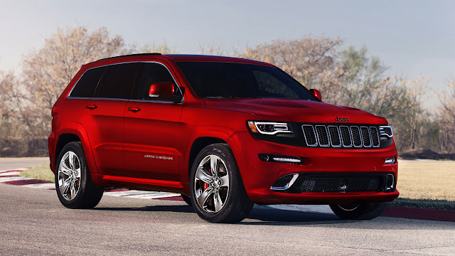 2014 Jeep® Grand Cherokee SRT red