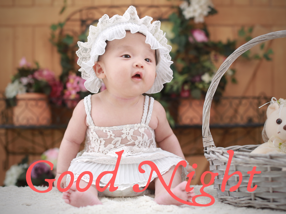 Cute Baby Good Night Images Free Download