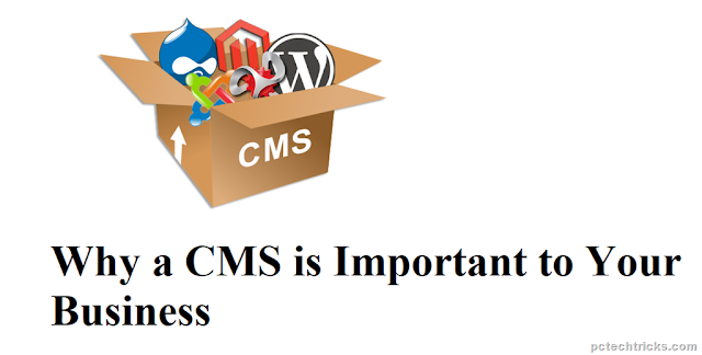 CMS is Important to Your Business