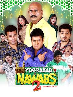 Hyderabad Nawabs 2 (2019) Hindi HDRip 720p HEVC x264 DD5.1 ESub [550MB]