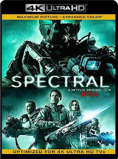 Spectral (2016) 4K 2160p UHD [HDR] Latino [GoogleDrive]