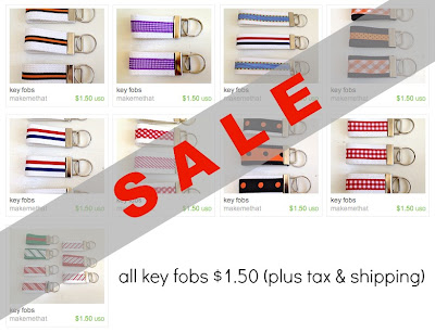 etsy shop key fobs sale