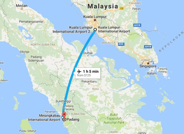 Indonesia | 14 Tempat-tempat menarik di Padang-Bukit Tinggi