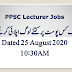 Lecturers Application Status August 25, 2020 10:30AM