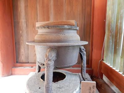 吉野山:吉野水分神社湯釜