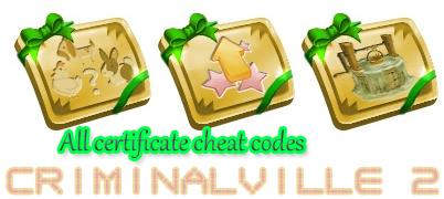 <b>FarmVille 2</b> All Certificate <b>Cheat Codes</b> ~ GamesHack457