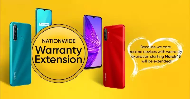 Realme PH Warranty Extension