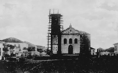 Construção de uma nova igreja do Bom Jesus de Iguape