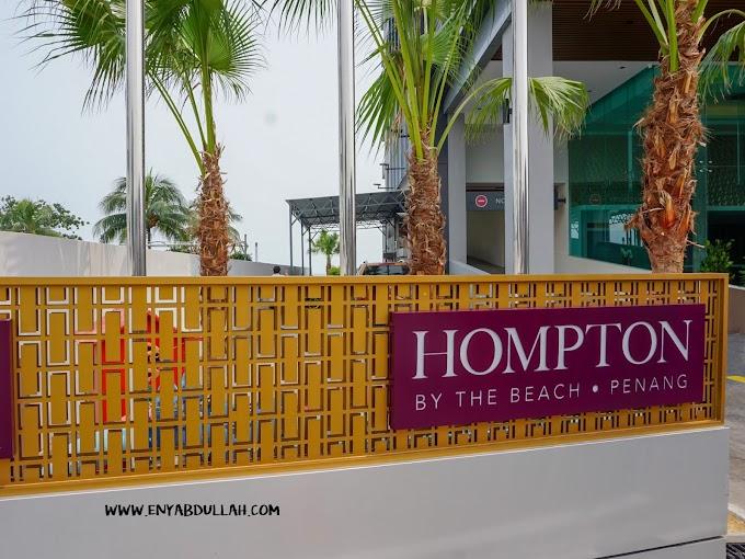 Hotel Baru Bertaraf 4 Bintang, Hompton By The Beach Penang
