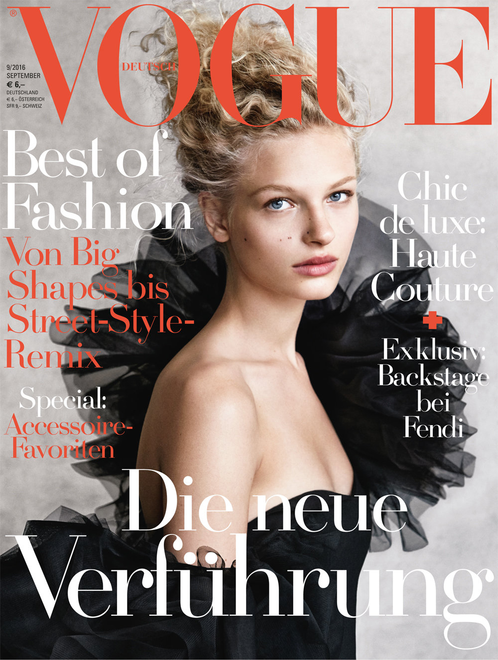 vogue germany sofie frederikke demarchelier patrick september covers vogues issue models australia october