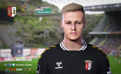 PES 2021 Faces Lukáš Horníček by CongNgo