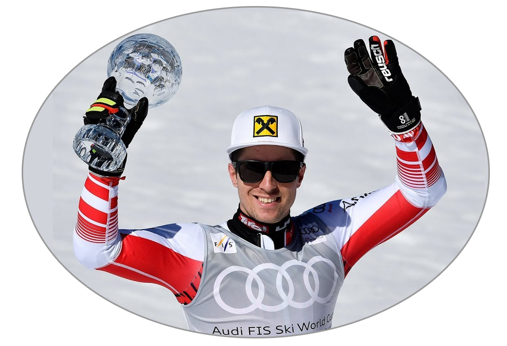 Marcel Hirscher glóbus Obrovský slalom - Andorra 2019