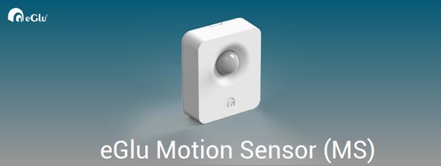 eGlu smart home Motion Sensor