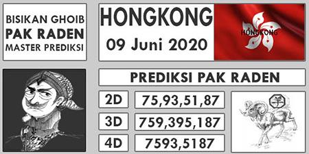 Prediksi HK Selasa 09 Juni 2020 - Pak Raden