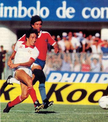 Chile y Paraguay en Clasificatorias a México 1986, 17 de noviembre de 1985