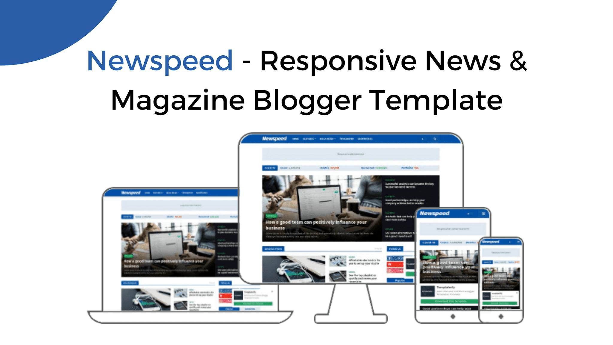 Newspeed - Template Blogger Berita & Majalah Responsive