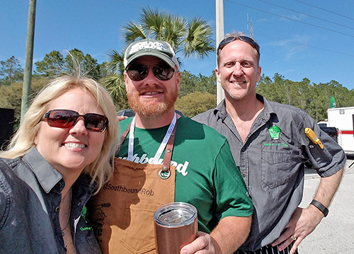Southbound Rob at the North Florida Big Green Egg Eggfest 2017
