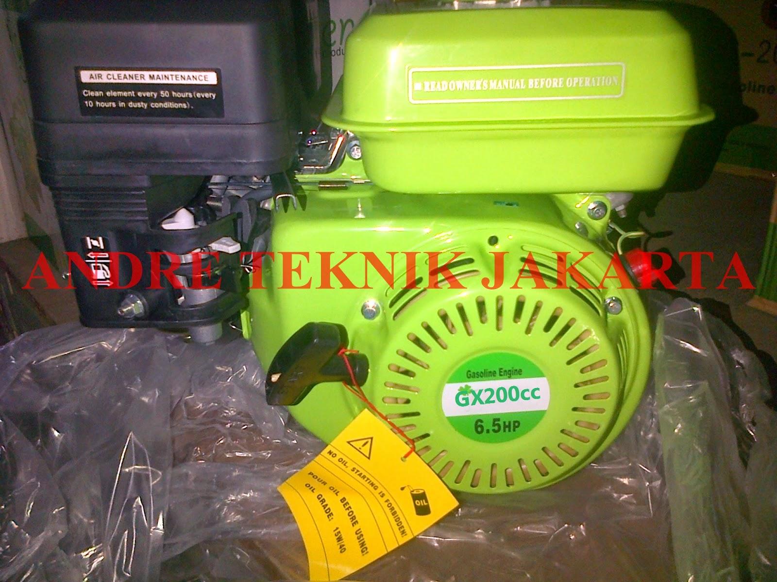 ANDRE TEKNIK JAKARTA: HARGA MESIN GX 160 200 270 390 670
