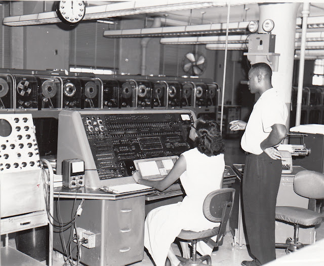 UNIVAC I in use at the US Census Office