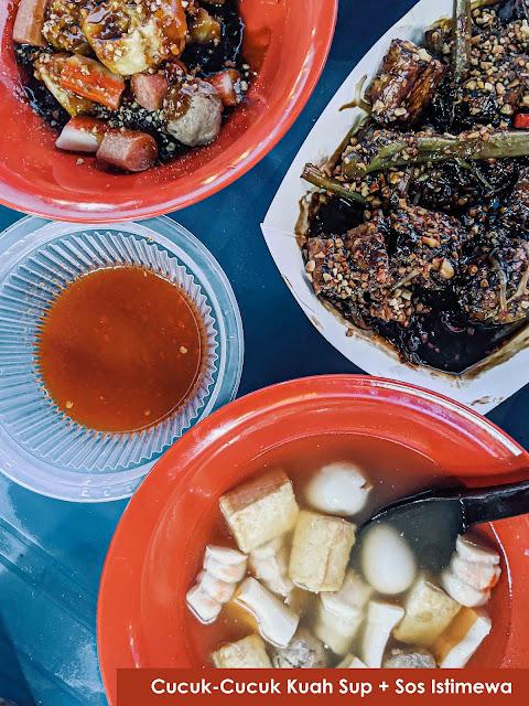 Cucuk-Cucuk Pantai Lido : Tempat Makan Baru Di Temerloh
