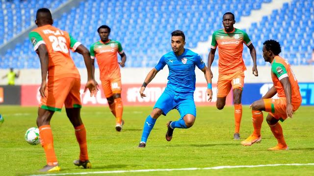 الزمالك يهدر الفوز أمام زيسكو يونايتد الزامبي