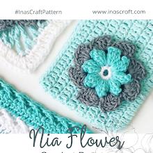 Nia Flower (FREE Crochet Pattern)