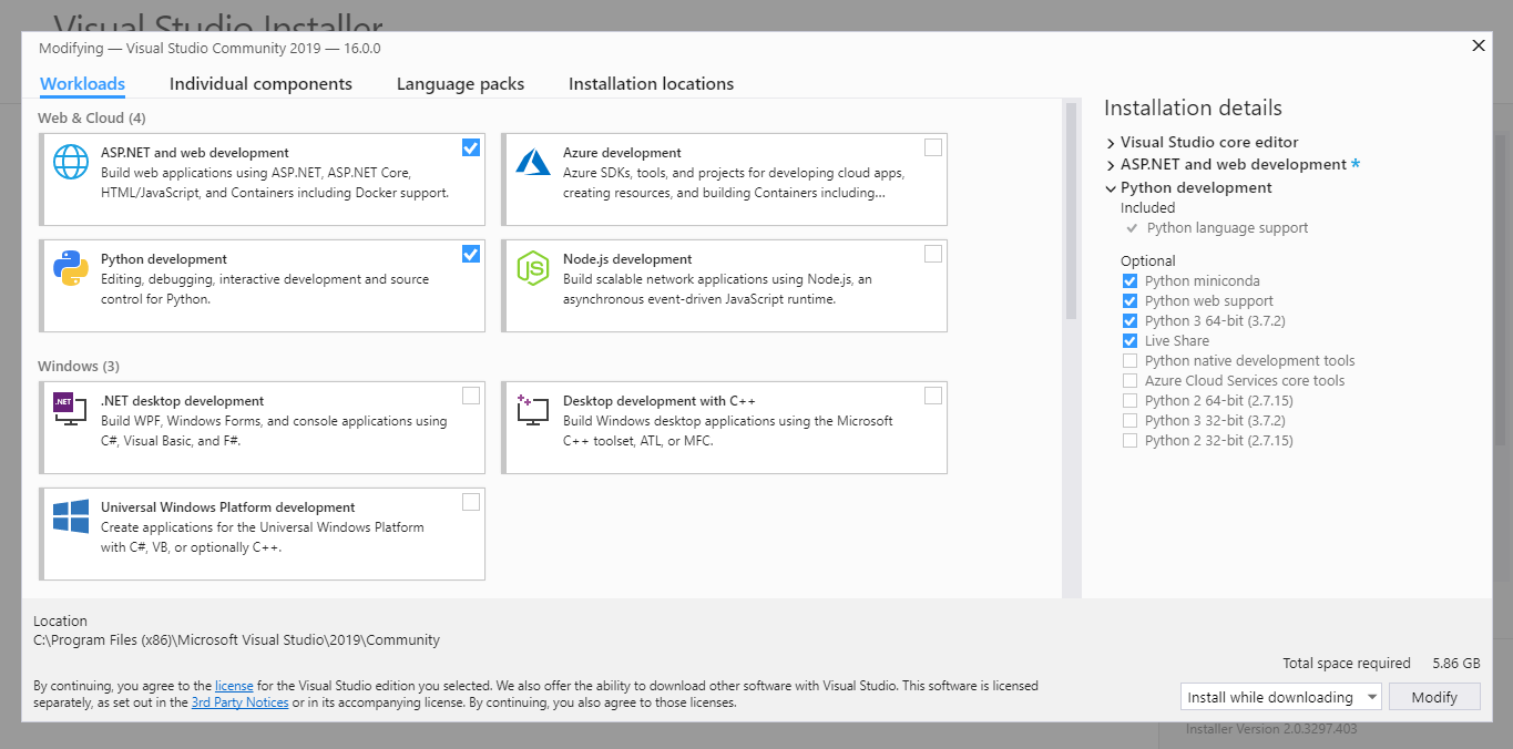 How To Download Visual Studio 2019 Community edition for