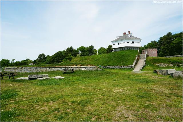 Zona de Picnic en el Fuerte McClary, Maine