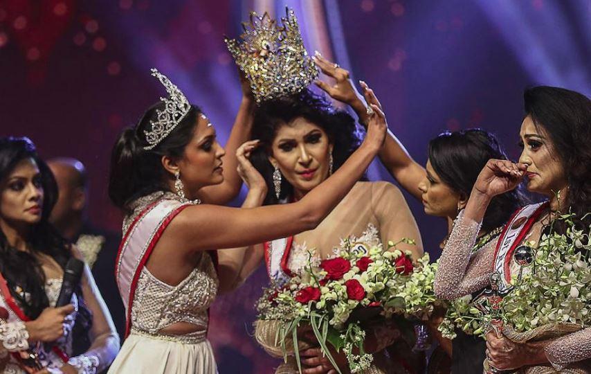 Controversy Erupted Over Mrs. Sri Lanka