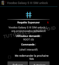 SuperSU : Voodoo GALAXY S3