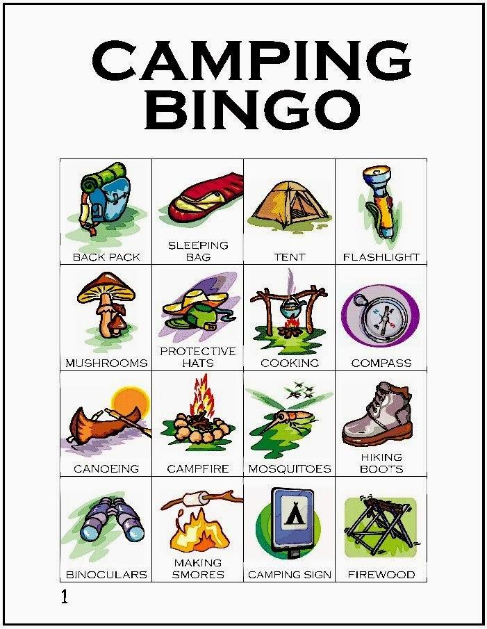 Outdoor Scavenger Hunt Bingo