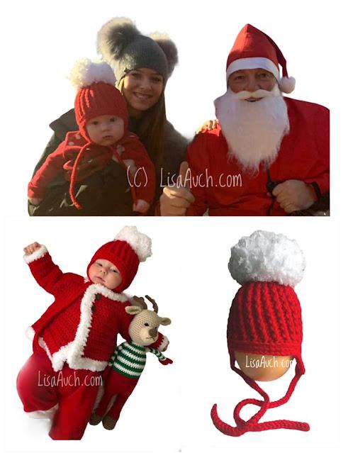 Crochet baby hat pattern with earflaps FREE crochet hat pattern
